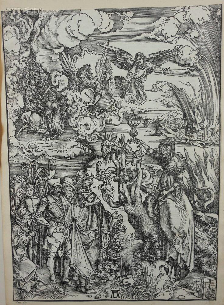 Albrecht Dürer (German, 1471-1528)      The Whore of Babylon
