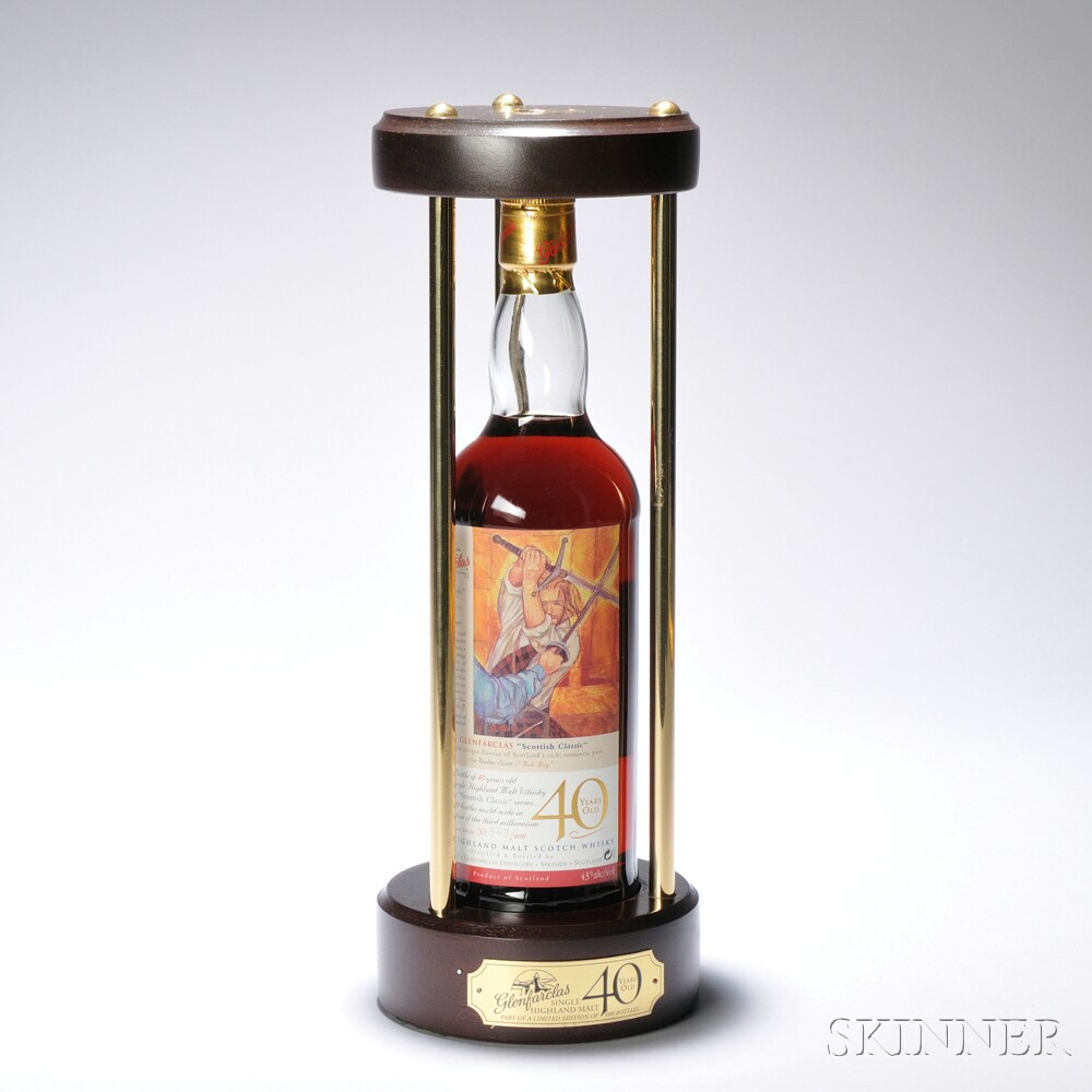 Glenfarclas Scottish Classics 40 Years Old, 1 750ml bottle (oc)