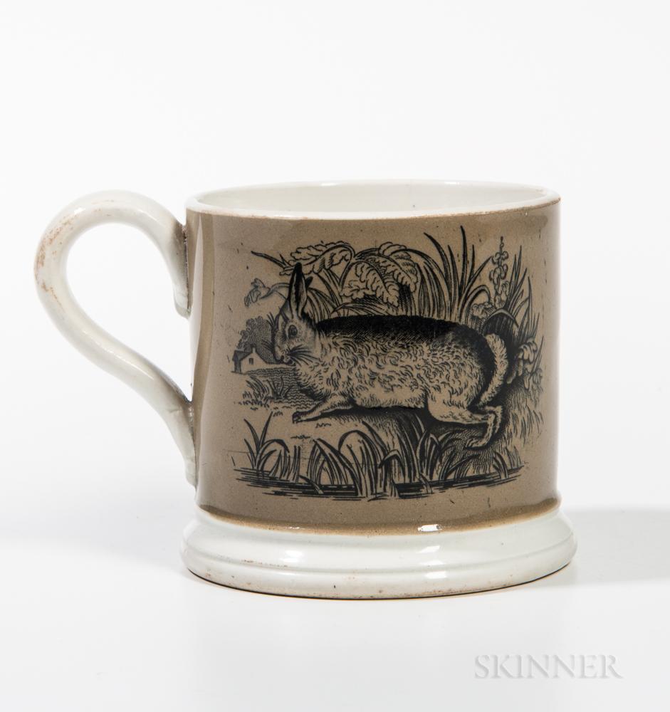 Whiteware Child's Mug