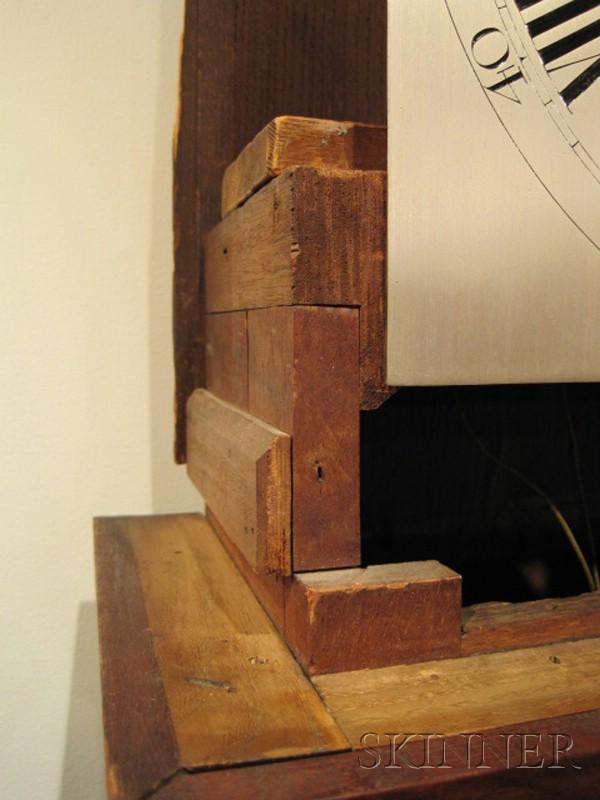 Walnut Tall Clock by Thomas Wagstaff