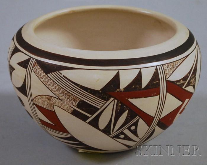 Southwest Painted  Ceramic Pot