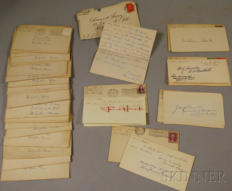 Collection of Historical, Business, Political, Literature, and Academia Autographs