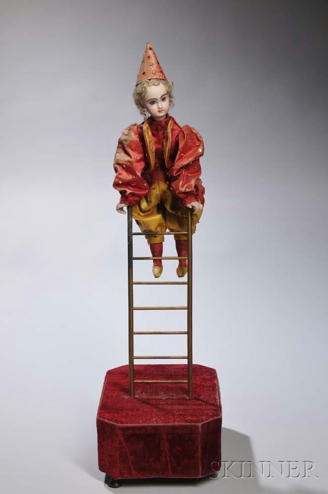 Roullet et Decamps Acrobat on Ladder Automaton