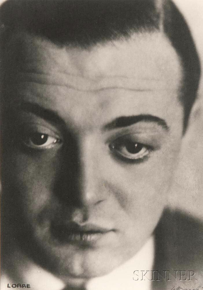 Lotte Jacobi (American, 1896-1990)      Peter Lorre, Berlin