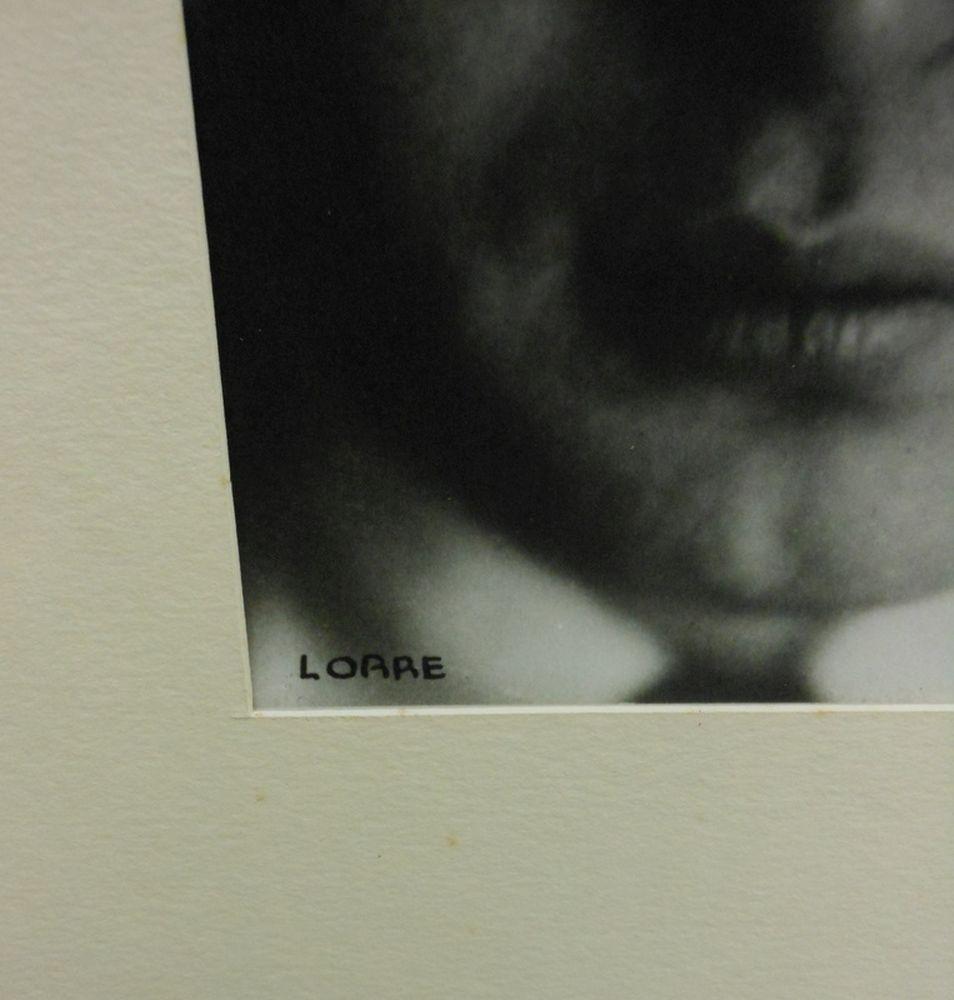 Lotte Jacobi (American, 1896-1990)      Peter Lorre, Berlin