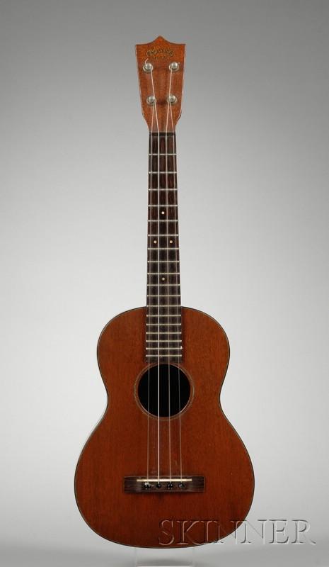 American Baritone Ukulele, C.F. Martin & Company, Nazareth, c. 1940, Style 1