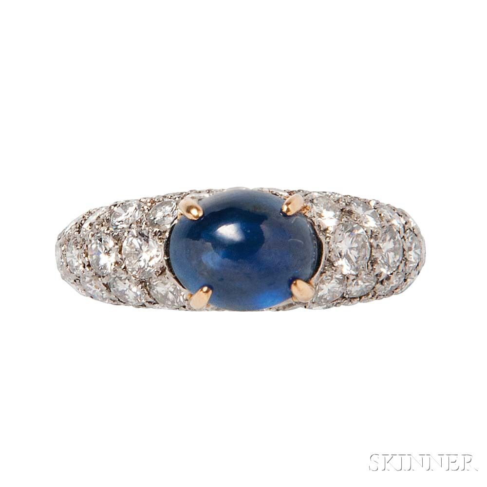Sapphire and Diamond Ring, Cartier