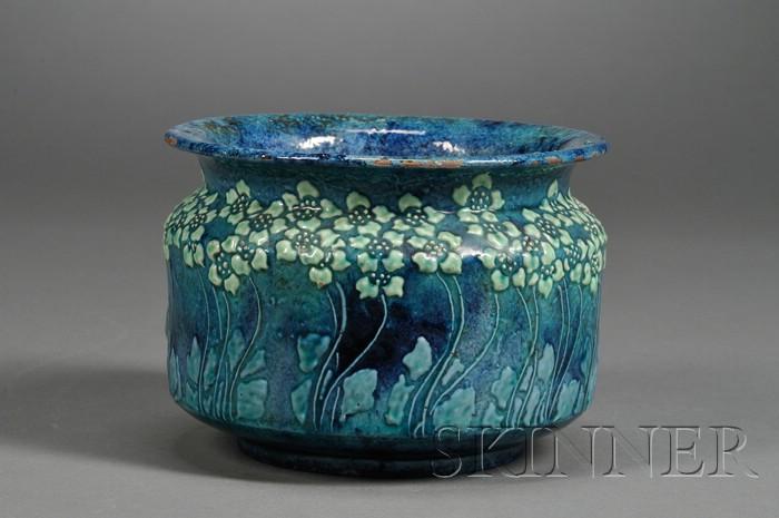 Art Nouveau Pottery Vase