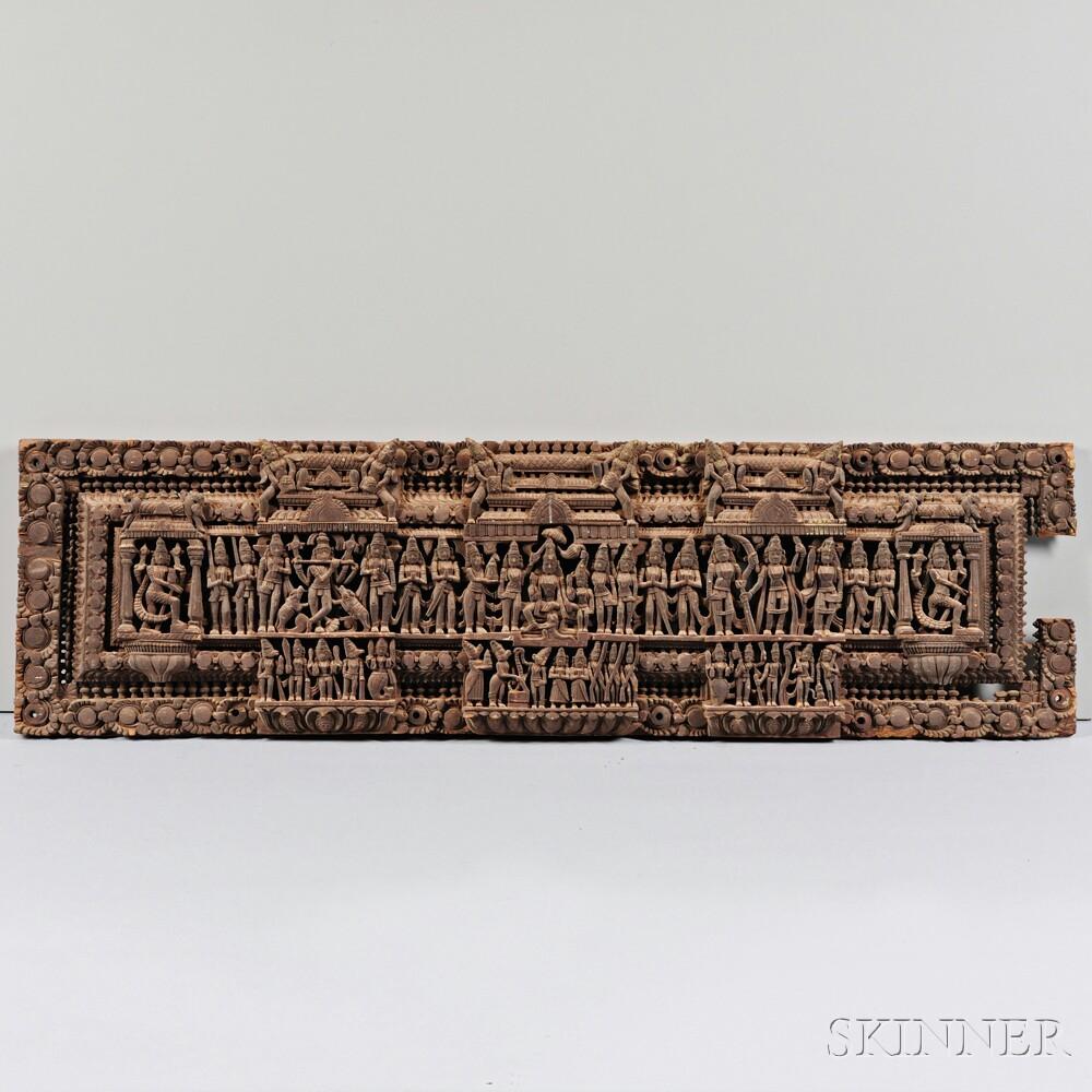 Wooden Lintel Frieze