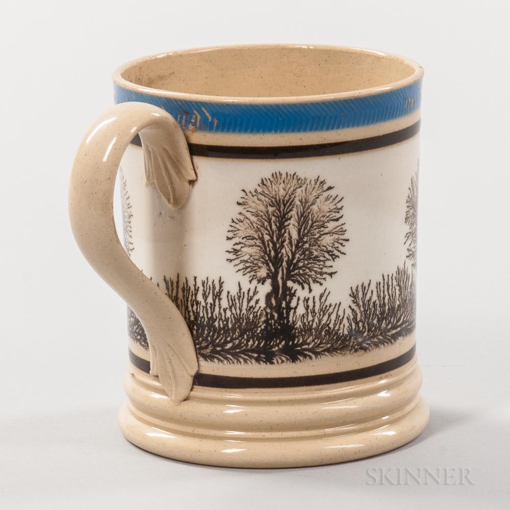 Mocha Yellow-body Half-pint Mug