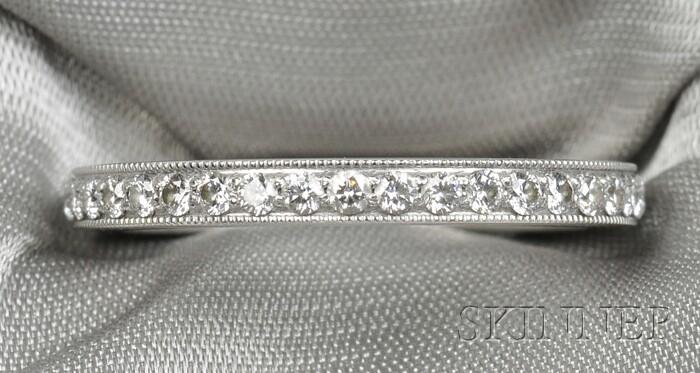 Platinum and Diamond Band, Tiffany & Co.
