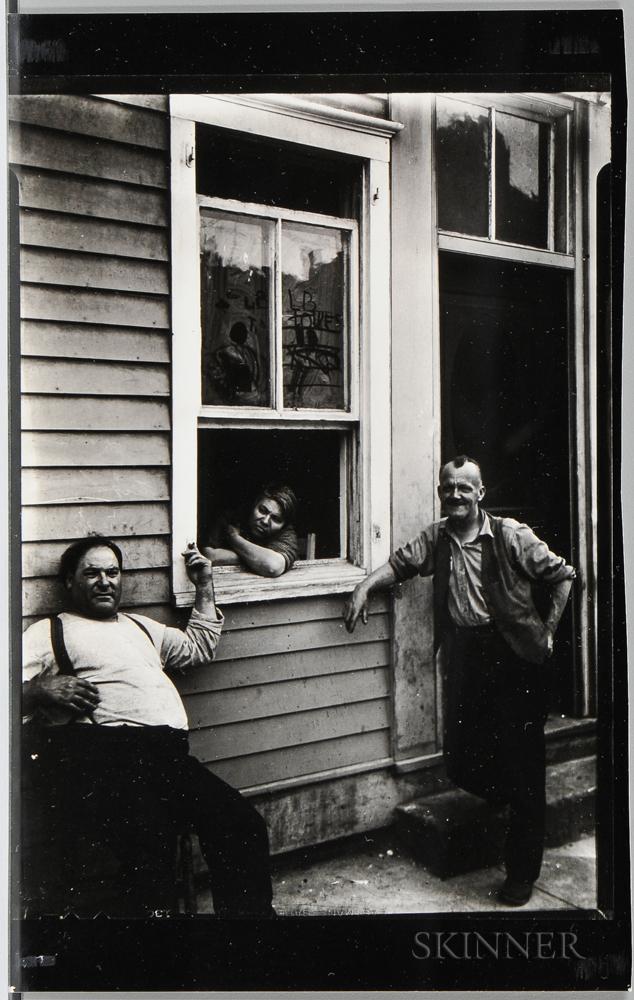 Walker Evans (American, 1903-1975)       People in Summer, Ossining, New York