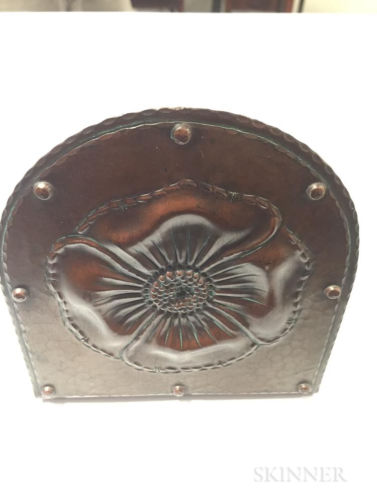 Two Roycroft Copper Items