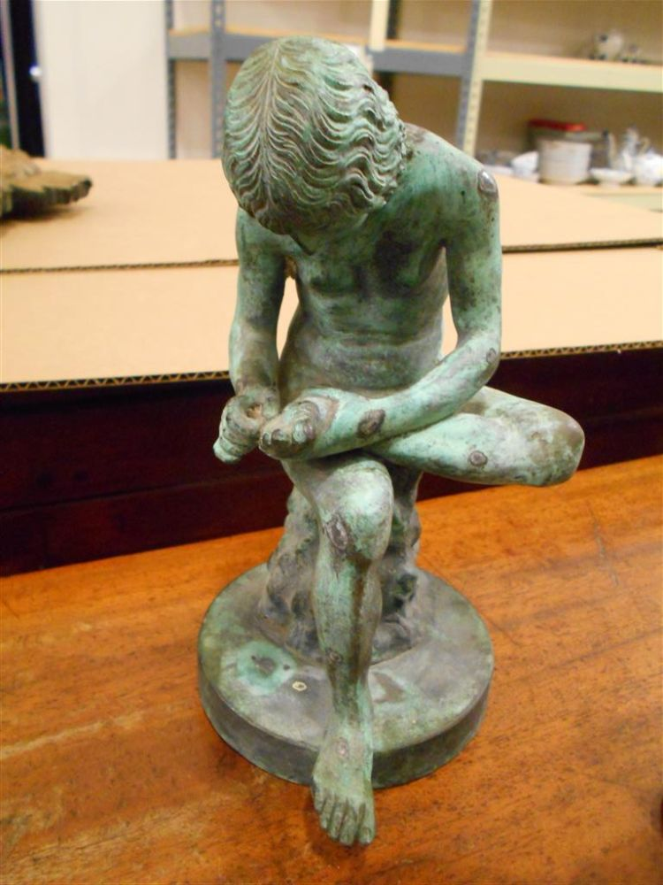 Three Grand Tour Bronze Sculptures