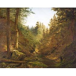 James Hope (American, 1818-1892)  Forest Glen