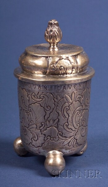 Russian Silver Covered Cup