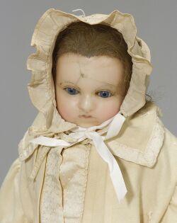 English Wax Shoulder Head Baby Doll