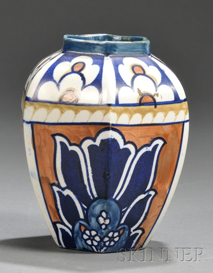 Frederick Rhead for Bursley Ware Vase