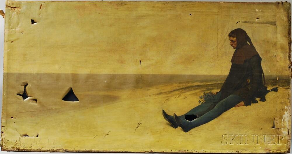 Jan van Beers (Belgian, 1852-1927)      Solitude.