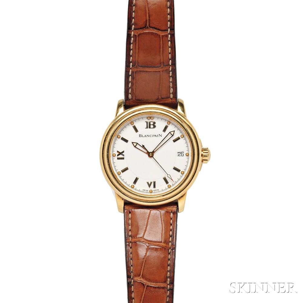 Gentleman's 18kt Gold Wristwatch, Blancpain