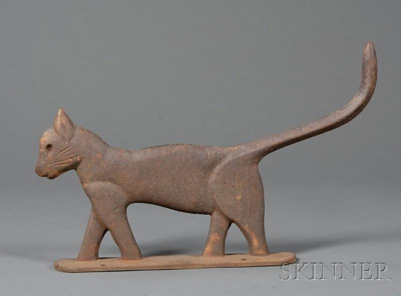Cast Iron Cat-form Bootscraper