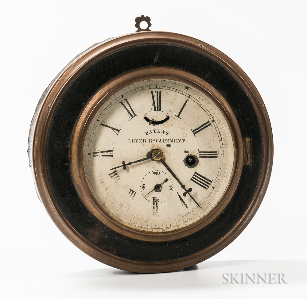 Jerome Thirty-hour Gallery Clock