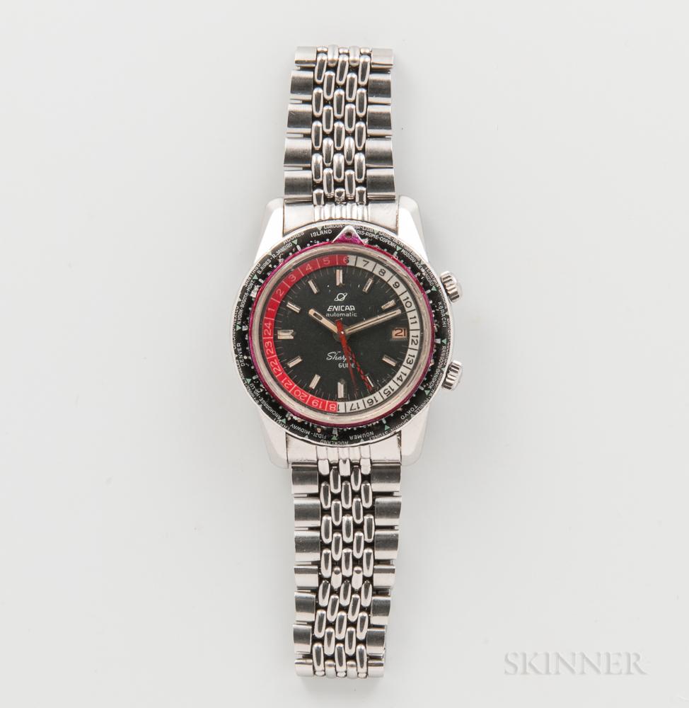 Enicar Mark III Sherpa Guide Automatic Wristwatch