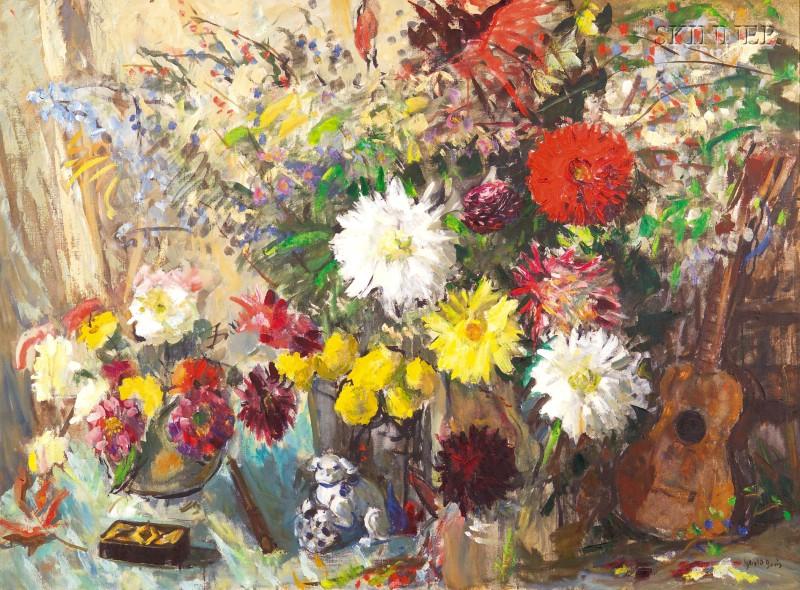 Gerald Vivian Davis (American, 1899-1987)      Floral