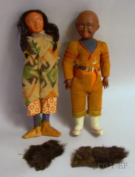 Dating skookum dolls values