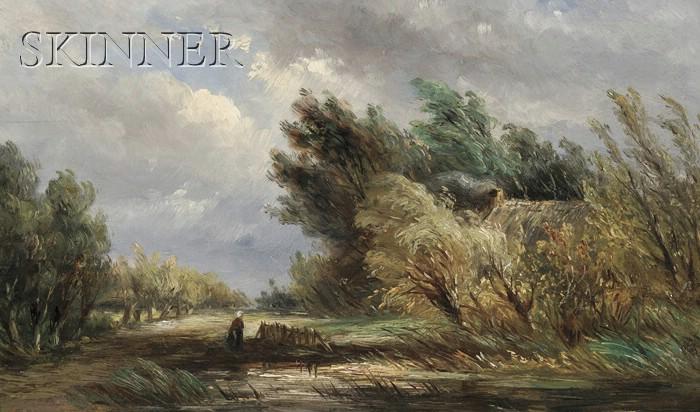 Albertus Jurardus van Prooijen (Dutch, 1834-1898)      Upcoming Storm