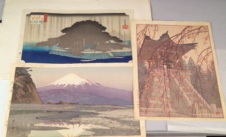 Three Japanese Prints