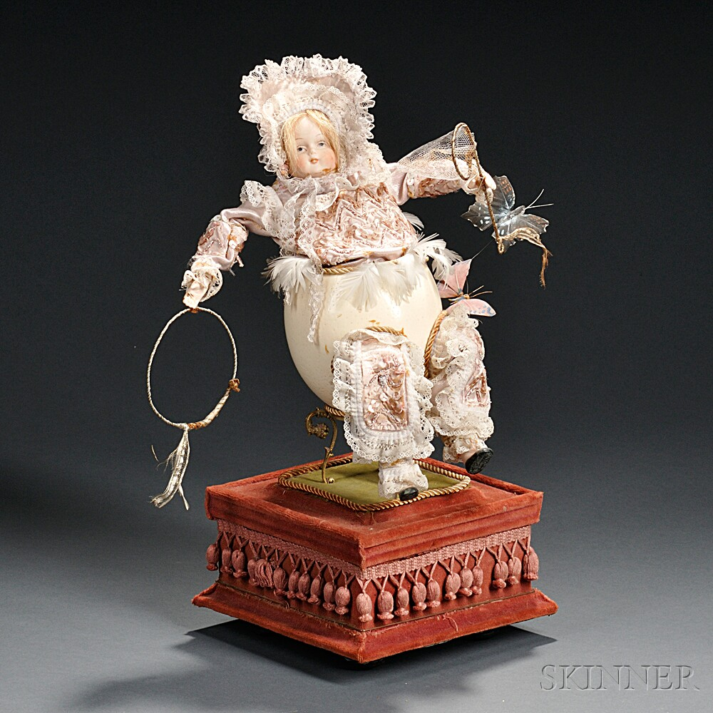Musical Automaton Baby Doll Egg