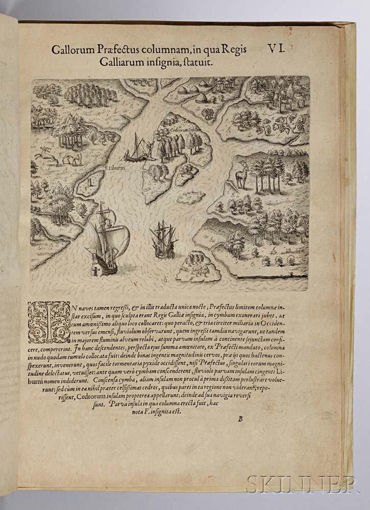 de Bry, Theodor (1528-1598) and Jacques Le Moyne (1533-1588) Brevis Narratio eorum quae in Florida Americae Provi[n]cia Gallis accideru