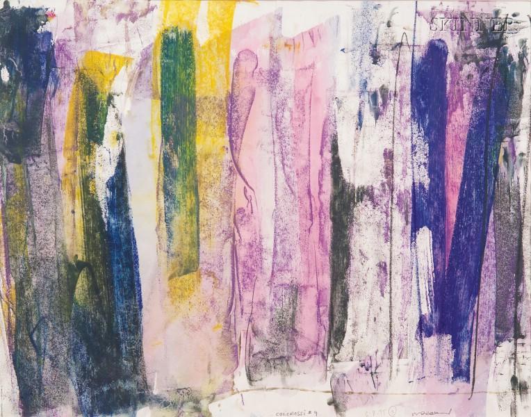 Walter Darby Bannard (American, b. 1934)      Colorossi #9