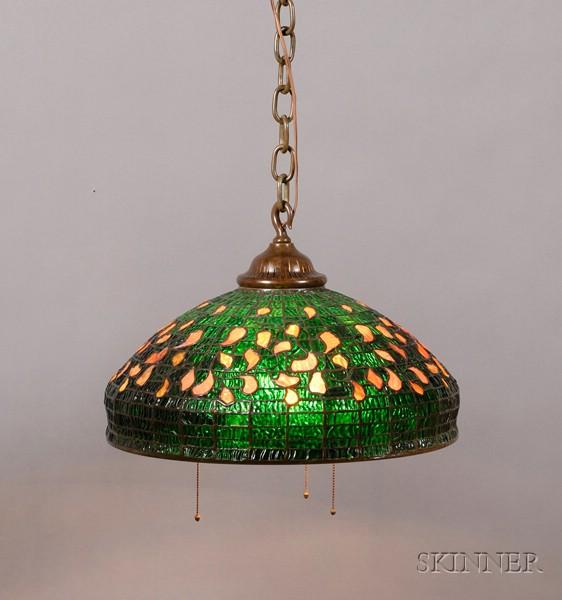 Tiffany Studios Autumn Leaf Hanging Lamp