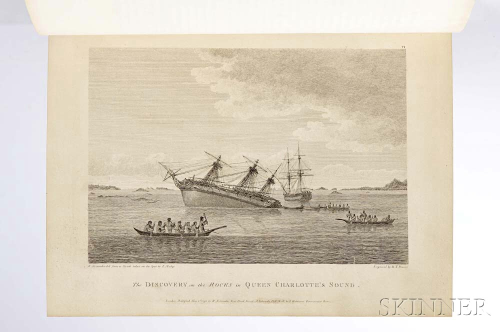 Vancouver George 1757 1798 A Voyage Of Discovery To The North Pacific Ocean And Round World