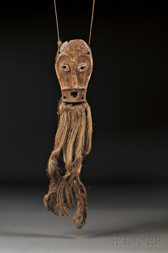 African Carved Ivory Masquette