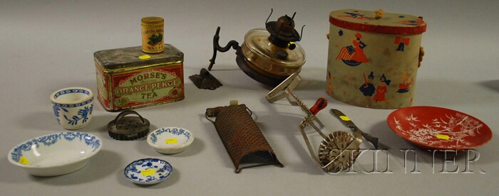 Group of Lighting and Country Items