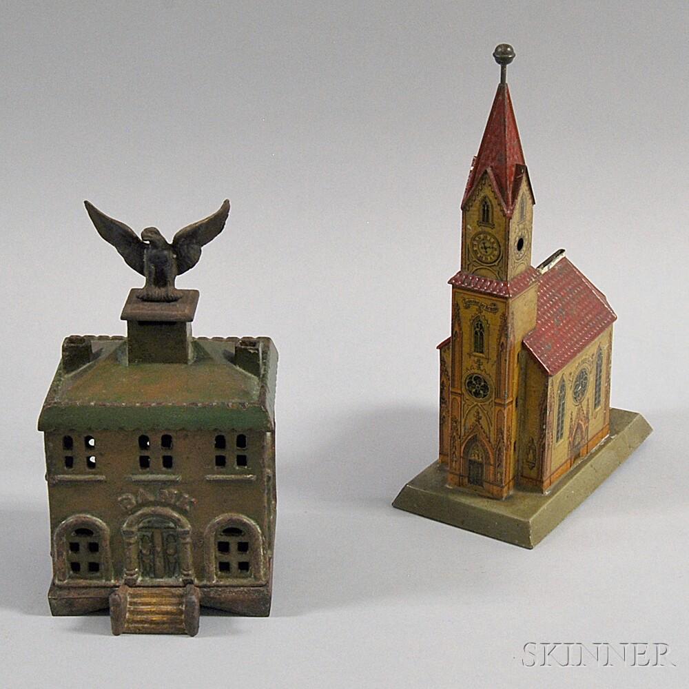 Two Metal Building Banks