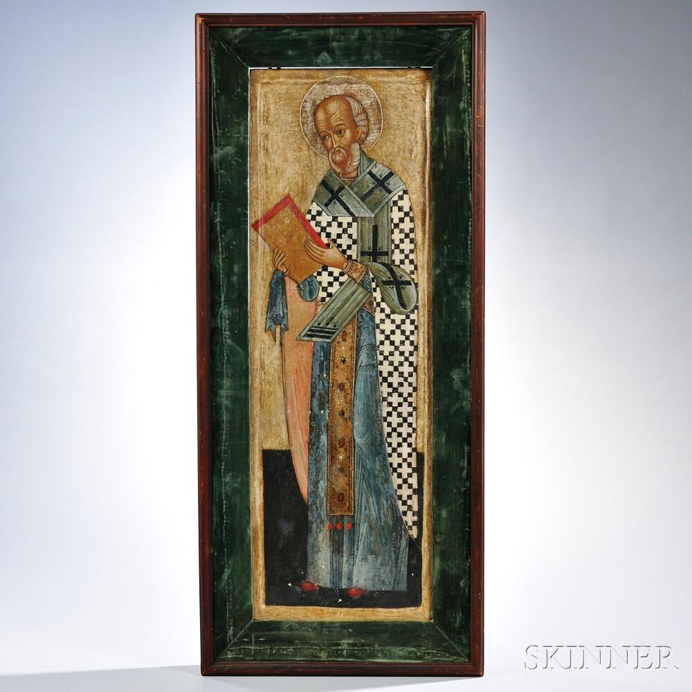 Russian Icon of Saint Nicholas