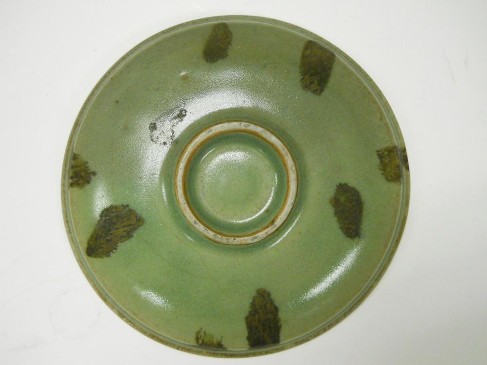 Celadon-glazed Dish