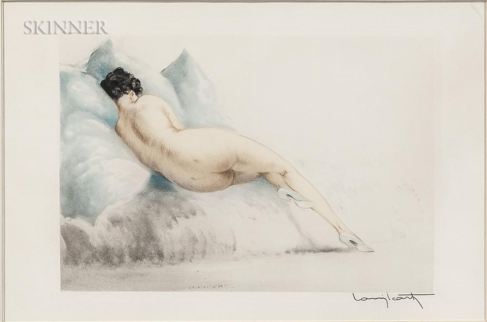 Louis Icart (French, 1888-1950)      Boudeuse