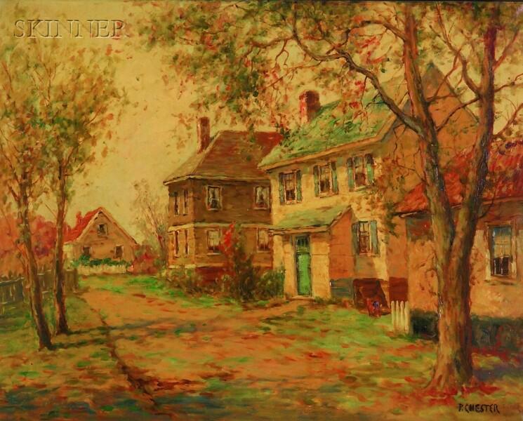 American School, 20th Century      Colonial Homes