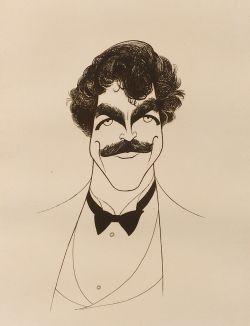 Albert Hirschfeld (American, 1903 - 2003)  Tom Selleck,