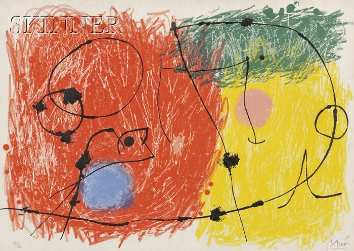 Joan Miró (Spanish, 1893-1983)      Untitled