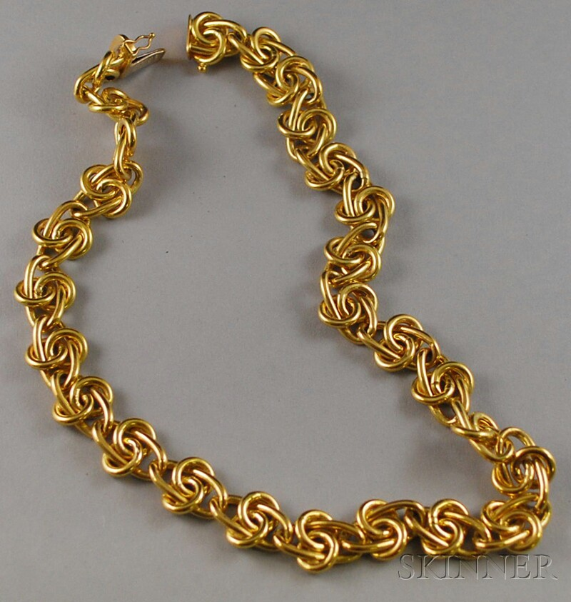 Italian 18kt Gold Necklace