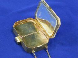 Art Deco 14kt Gold Vanity Case.