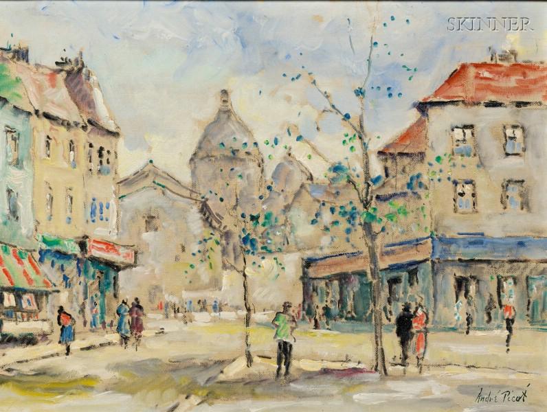 Andre Picot (Franco/American, 1910-1922)      Sacre Coeur