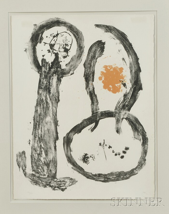 Joan Miró (Spanish, 1893-1983)      Untitled (from Album 19)