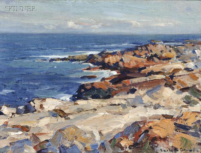 Emile Albert Gruppé (American, 1896-1978)      Bass Rocks